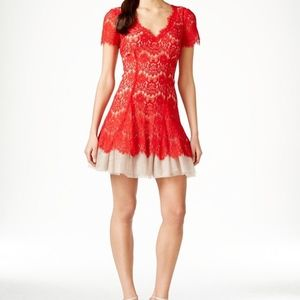 NWOT Red Cocktail Dress